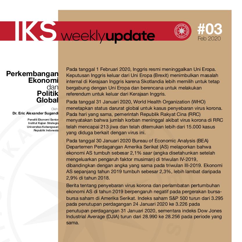 IKS-Weekly-03-2020.02.03
